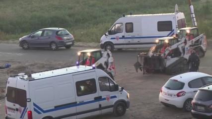France: Demolition of Calais