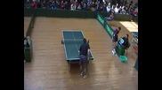 Тенис на маса Финал Голованов 4 3 Йорданов 2