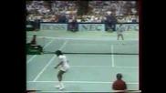 Davis Cup 1989 : Агаси - Ноа | Смях
