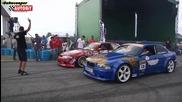 Bmw E36 Turbo vs Nissan Skyline Gtr R33 Turbo - Drift