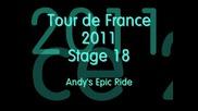 Tour De France 2011 Stage 18 Col Du Galibier Andy Schleck`s Brave Attack !