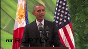 Philippines: Obama opens door for 'coordination' with Russian over Syria