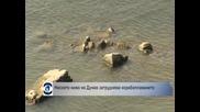 Ниското ниво на Дунав затруднява корабоплаването