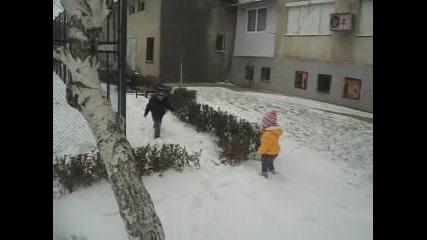 Снежен ден 21.12.2012