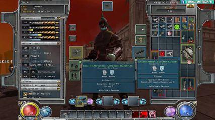 Hellgate London- London 2038 - covent garden market Shulgoth - Evoker gameplay