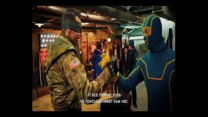 Джим Кери се присъединява към бандата супергерои в Kick-ass 2