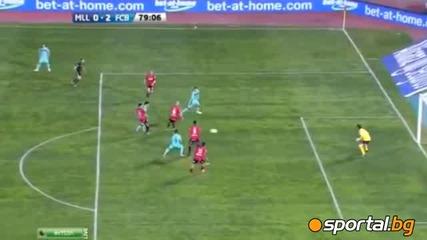 Майорка - Барселона 0 - 2 24.03.2012