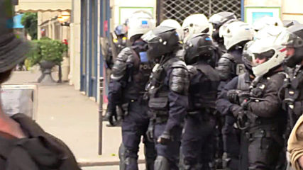 France: Police use tear gas during week 31 of Yellow Vest protests