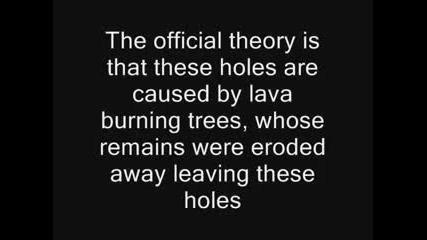 Мистериозна дупка в Русия