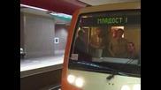 Пътуваме с метро в София от Младост до стадион Васил Левски