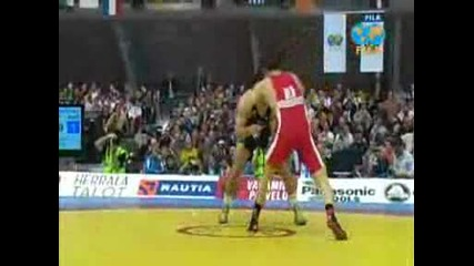 Youtube - 74kg Em08 Finale Gaidarov Murad Blr - Murtazaliev Mahachrus.wmv