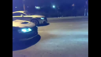 Audi Tt 1.8t vs Mitsubishi Evo 9 и Две яки П*тки