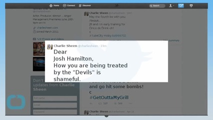 Charlie Sheen's Medical Advice for Josh Hamilton's Drug Problems