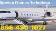 Private Jet Charter Flight Service Indianapolis Fort Wayne Evansville Indiana Empty Leg Near Me