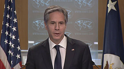 USA: 'There is strong desire for US to be back in the room' - Blinken at first presser as State Sec