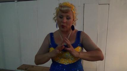 Dancing stars - Албена отговоря на зрителски въпроси - 18.03.2014 г.
