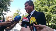 Георги Първанов се сбогува със Светлин Русев