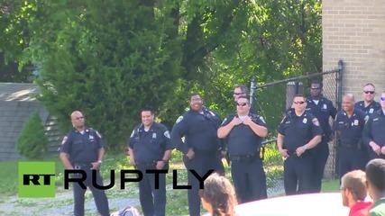 Протести за Фреди Грей по улиците на Балтимор