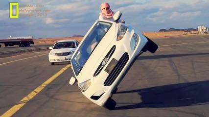 Араби карат на две гуми с джип