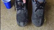 Как да накараме водата да избяга от обувките ни?