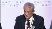 France: Tuvalu PM calls on world to save Pacific, Caribbean and Indian Ocean islands