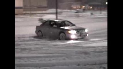 Audi S4 - В Снега