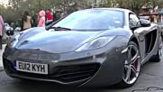 How Not to Open a Mclaren Mp4-12c Door !