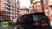 UK: Security remains high for Assange at Ecuadorian embassy 3 years on