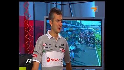 Студиото Преди Гран При На Япония 2011 15-ти Кръг От Световния Шампионат Във Формула1
