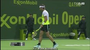 Nadal - Kuznetsov, Doha Open 2016 (14 Finale) Qatar Exxonmobil Open