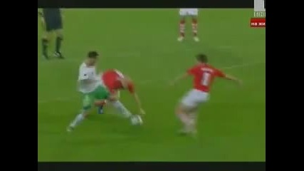 Най - после първа победа в Квалификациите! Уелс 0:1 България