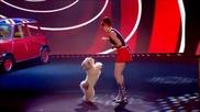 Британия Търси Талант . Момичето с изумителното танцуващо куче отново заплени публиката
