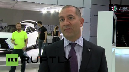 UAE: Lexus-designed hover board on display at Dubai Auto Show