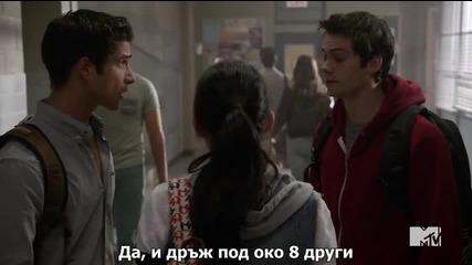 Младия Вълк сезон 5 епизод 6 + Бг Субтитри Teen wolf season 5 episode 6 Bg sub