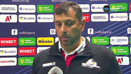 Николай Желязков: Имахме своите шансове, но Хебър играе много силно