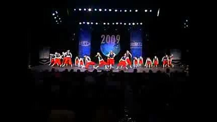Ada Dark Angels - International Open Hip Hop Worlds 2009 2nd place