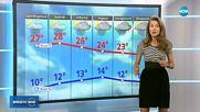 Прогноза за времето (02.05.2018 - централна емисия)