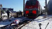 Руснак издърпа 288-тонен влак