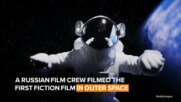 Russians produce a movie in outer space