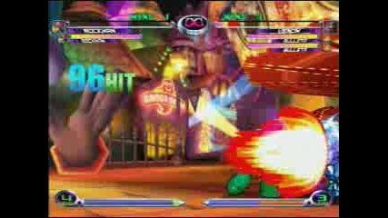 Marvel Vs Capcom - Combo Video