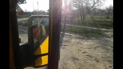 Луд поляк на камион в Румъния