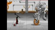 Dragon Fable - Kings Dra Vs Big Robot