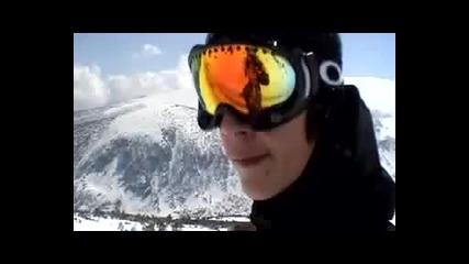 Snowboarding in Bulgaria