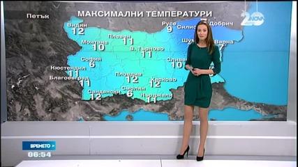 Прогноза за времето (16.01.2015 - сутрешна)