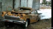 Изобилие от захвърлени коли, които не са нужни на никого вече по руските улици!