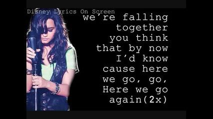 Demi Lovato - Here We Go Again with Lyrics