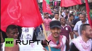 State of Palestine: Thousands of Gazans rally in solidarity with the West Bank