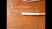 Трик с цигара