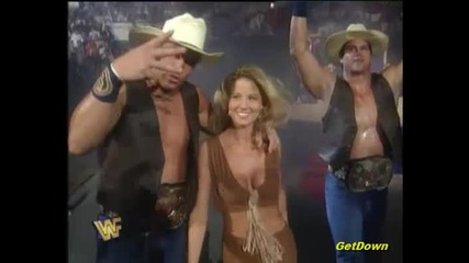 The Godwinns w/ Hillbilly Jim vs. The Smoking Gunns w/ Sunny - Wwf King Of The Ring 1996