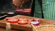 Бургери с бърбън сос - Бон Апети (15.09.2016)